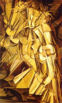 Nude descending staircase no.2 || Marcel Duchamp